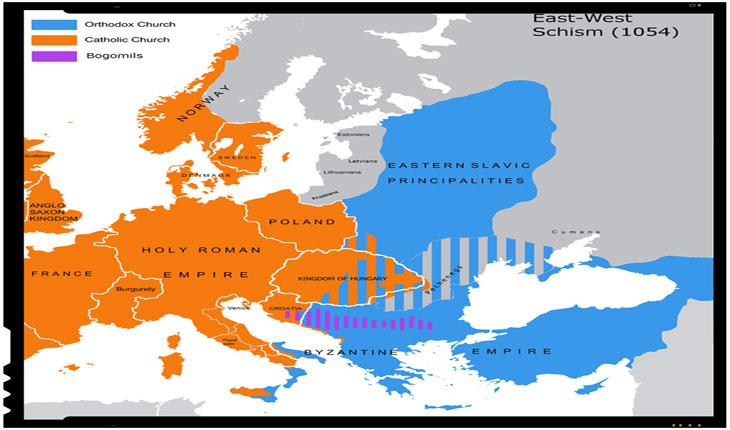 16 iulie 1054: Marea Schismă dintre bisericile creștine occidentale și bisericile orientale de rit bizantin