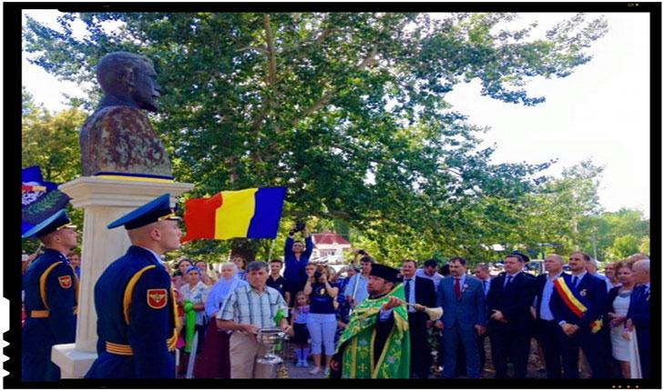 Bustul Regelui Ferdinand I a revenit la Nisporeni, Foto: Constantin Codreanu, apud infoprut.ro