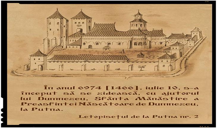 Se implinesc 550 de ani de la punerea pietrei de temelie a Mănăstirii Putna, Foto: www.facebook.com/SfantaManastirePutna/