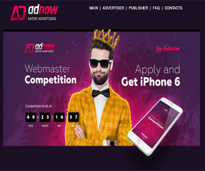 Adnow, Monetizare site, Monetize your site