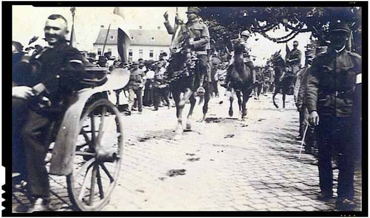 3 August 1919 - Armata Romana intra in Timisoara si aduce o mare contributie la reintregirea teritoriilor romanesti, Foto: primariatm.ro