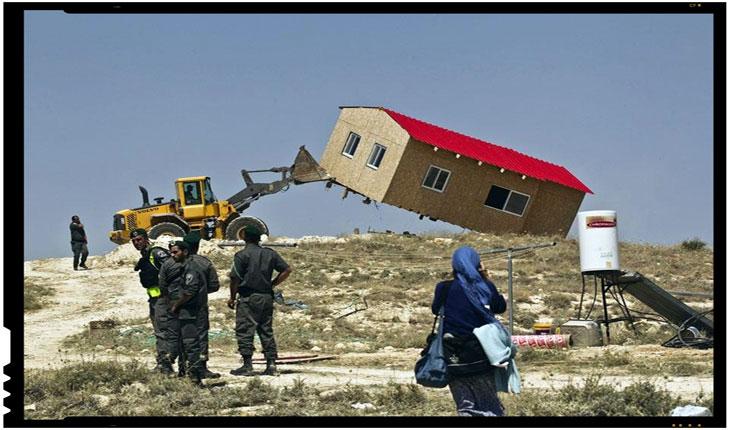 Cum sunt cheltuiti banii Uniunii Europene? Armata israeliana a demolat mai multe cladiri ilegale finantate de UE in Cisiordania, Foto: animanews.org