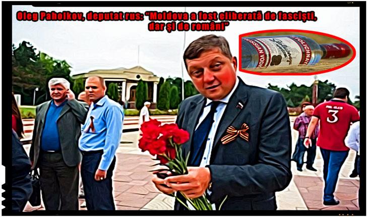 Oleg Paholkov, deputat rus,Moldova,eliberata,fascisti,romani, Foto: moldnova.eu, Sandu Tarlev