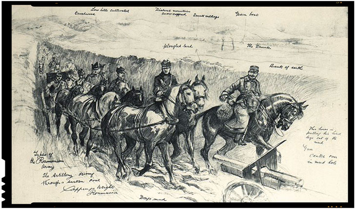 Hristos, Pământul și Voievozii Neamului, puterea generalilor și țăranilor români din Primul Război Mondial