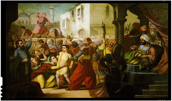 15 August 1714 - Martiriul lui Constantin Brâncoveanu si al fiilor sai, de Constantin Lecca