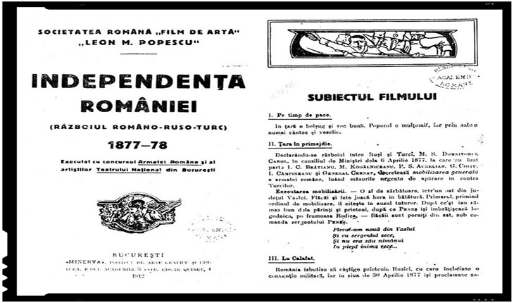 """Filmul """"Independenta Romaniei"""" 1912, Reactiile in provinciile romanesti din Imperiul Austro-Ungar"""