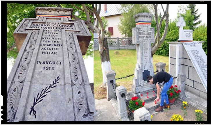 Primul erou român cazut acum 100 de ani in Razboiul de reintregire a tarii a fost colonelul Gheorghe Poenaru-Bordea, Foto: NeamUnit