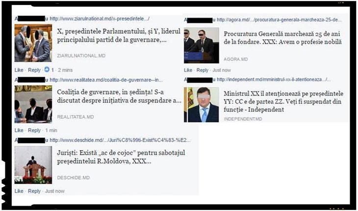 Cum au ales sa protesteze jurnalistii din Republica Moldova fata de unele legi aberante. Foto: facebook.com/simion.georgenicolae