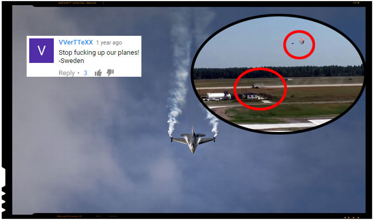"Suedezii, suparati pe Aviatia Militara maghiara: ""Nu ne mai stricati renumele avioanelor!"""