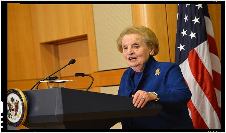 "Agentii globalizarii apasa pe acceleratie!Madeleine Albright: ""Sunt gata sa fiu inregistrata ca musulmanca!"", Foto: commons.wikimedia.org"
