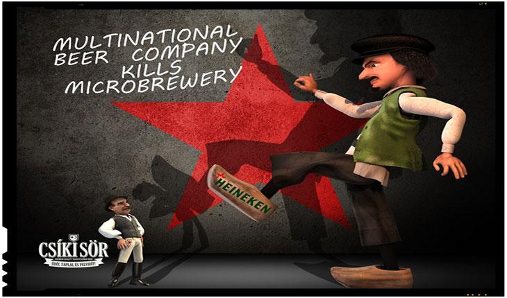 Producatorii locali de bere de la Igazi Csíki Sör au pierdut o batalie dar continua razboiul cu Heineken, Foto: facebook.com/csikisormanufaktura