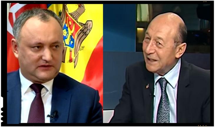 Dodon a pierdut razboiul cu Basescu! Traian Basescu are din nou cetatenia Republicii Moldova, Foto: captura youtube
