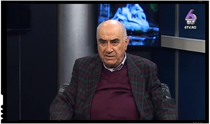 """Ion Coja: """"Cei care nu sunt capabili sa manifeste acest sentiment patriotic, nationalist, sunt niste oameni handicapati"""", Foto: captura 6TV.ro"""