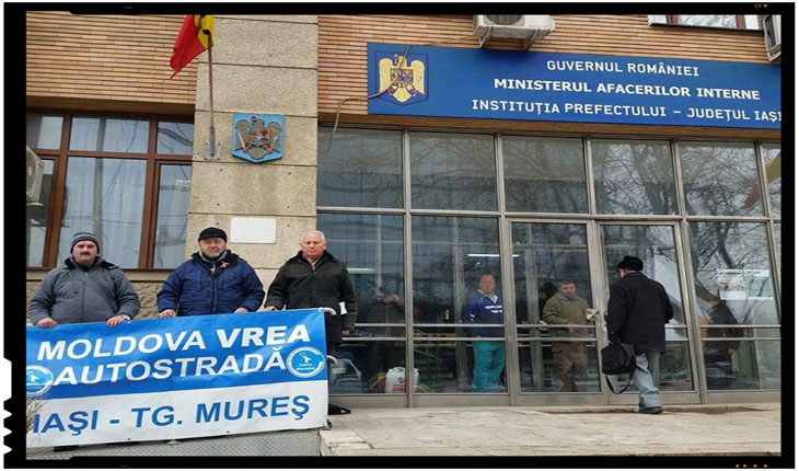 Moldova vrea autostrada IASI - Tg. Mures!, Foto: facebook.com/FortaMoldova/