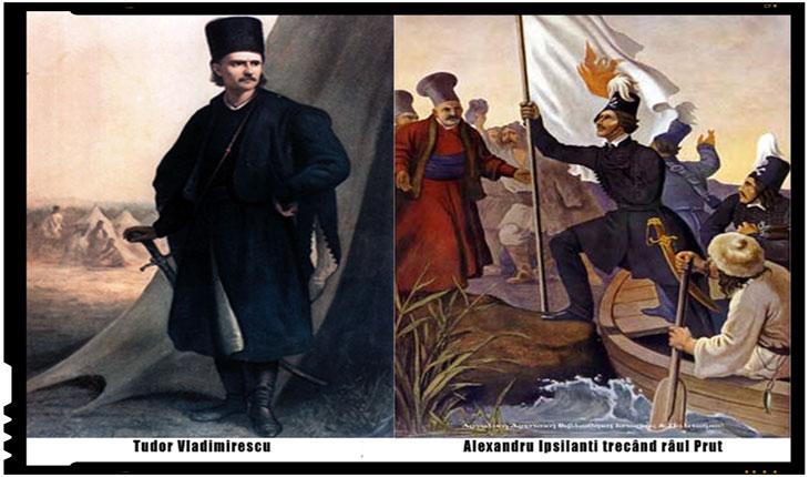 La 30 martie 1821 a avut loc intalnirea dintre Tudor Vladimirescu si Alexandru Ipsilanti
