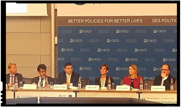 """Alexandru Petrescu, Ministrul pentru Mediul de Afaceri: """"Romania este pregatita pentru statutul de membru OCDE"""", Foto: facebook.com"""