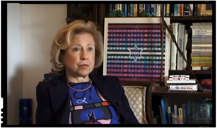 Collete Avital - O romanca emigrata in Israel si fostul patron PRO TV se afla in fruntea evreilor din intreaga lume, Foto: TVR