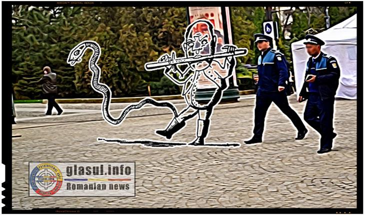 De ce fug romanii din tara? Doi politisti au pus un satean sa sasaie ca sarpele!