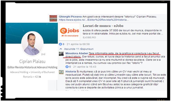 """Demitizarea (H)istoriei. Istoria care o scriu lustragii si propagandistii marxismului """"cultural"""", Foto: captura facebook , linkedin"""