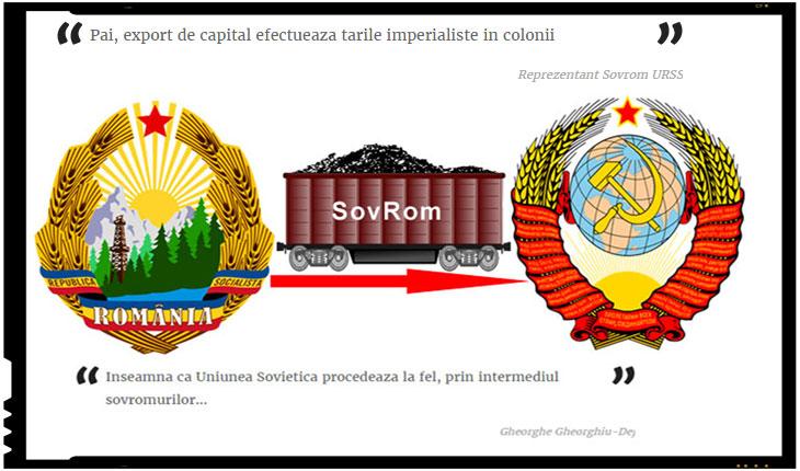 """Reprezentantul SovRom catre Gheorghe Gheorghiu-Dej: """"Export de capital efectueaza tarile imperialiste in colonii"""""""