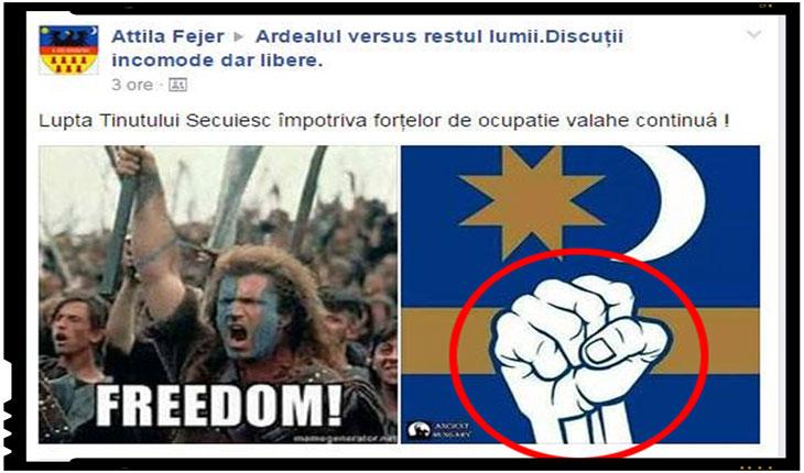 "Iredentismul maghiar si neomarxismul ""romanesc"" sunt interconectate si interdependente, Foto: facebook.com"