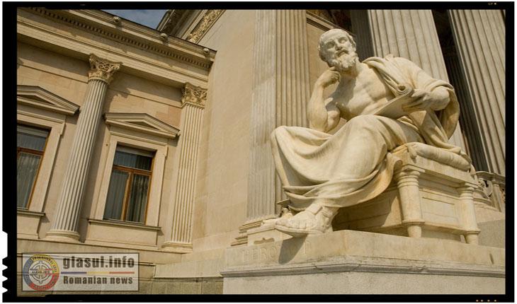 Statuia lui Herodot - Cum se pune chestiunea nemuririi la geți?