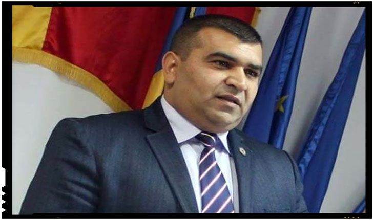 Toader Constantin, preşedintele Partidei Romilor-Pro Europa din Vrancea, Foto: radioresita.ro