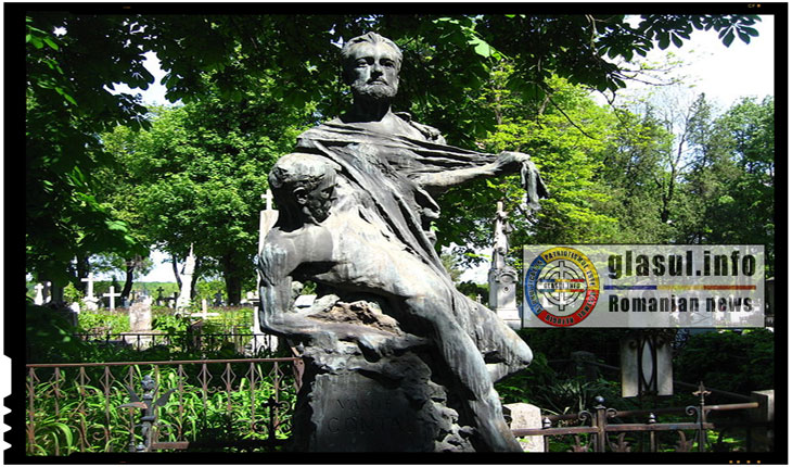 Mormântul lui Vasile Conta de la Cimitirul Eternitatea din Iaşi - La 22 aprilie 1882 se stingea din viata