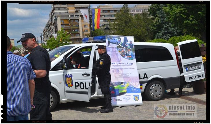 21 Mai - Ziua Politiei Locale sarbatorita si la IASI, Foto: Fandel Mihai