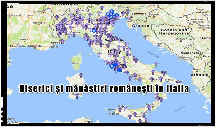 Biserici si manastiri romanesti din Italia - Cu cat propaganda neomarxista este mai anticrestina, cu atat mai mult romanii se indreapta catre credinta