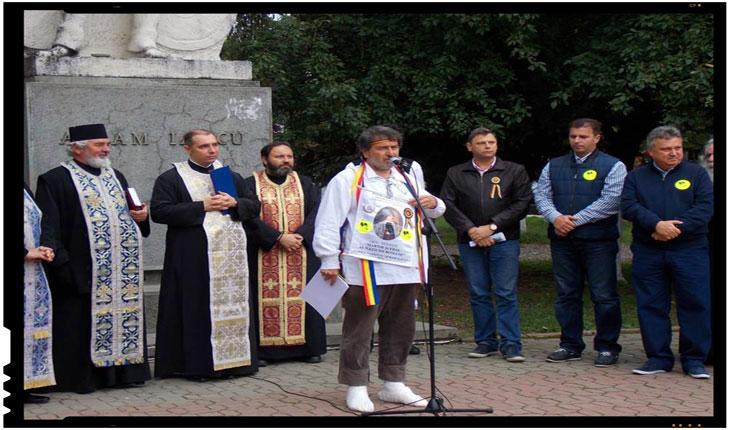 """Dedic Marșul Național Avram Iancu, """"Erou al Națiunii Române"""", """"EXILULUI ROMÂNESC"""", Foto: facebook.com/laurian.stanchescu"""