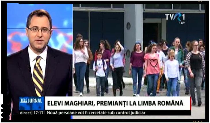 Performantă remarcabilă: elevi maghiari, premianti la Limba română, Foto: TVR.ro