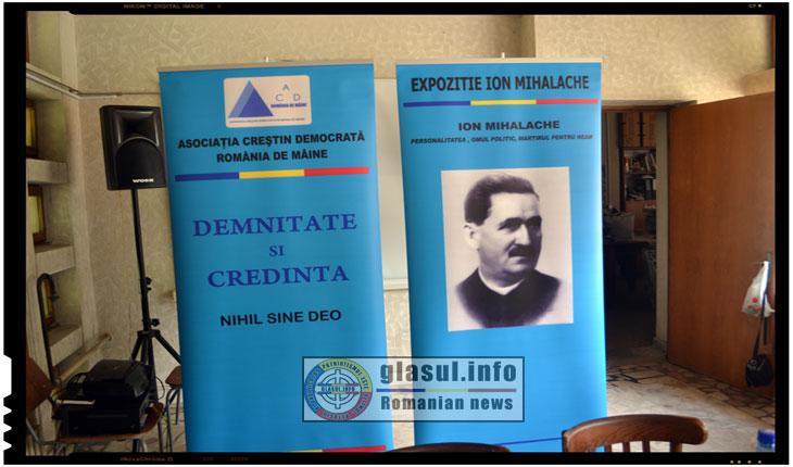 Expozitia itineranta dedicata martirului Ion Mihalache a poposit si la IASI