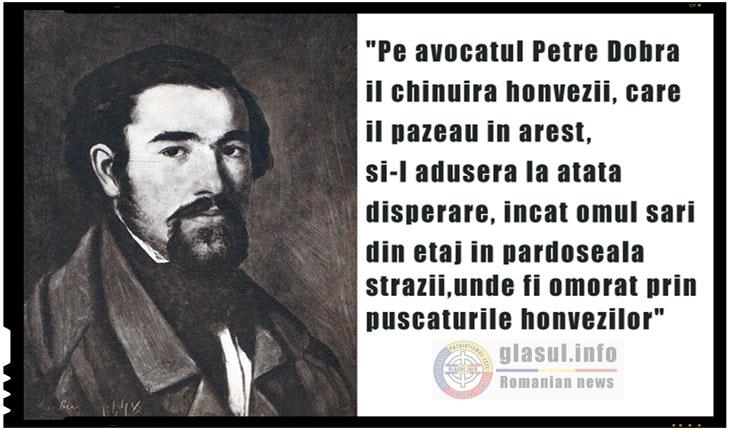 Petre Dobra, martir al luptei romanilor ardeleni pentru unitate nationala