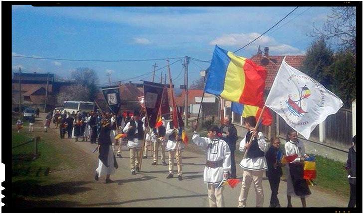 Românii din Mărtănuș vin la București. Pe 10 iunie, Foto: Mihai Tirnoveanu