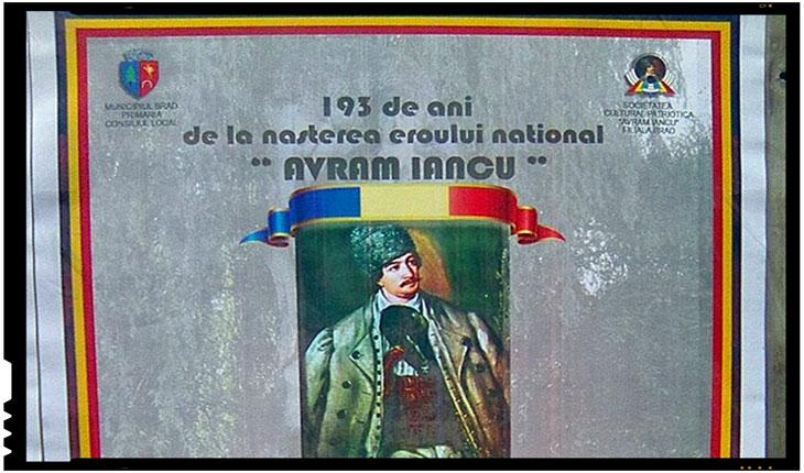 193 de ani de la nasterea eroului national AVRAM IANCU, Foto: facebook.com/serb.marcel