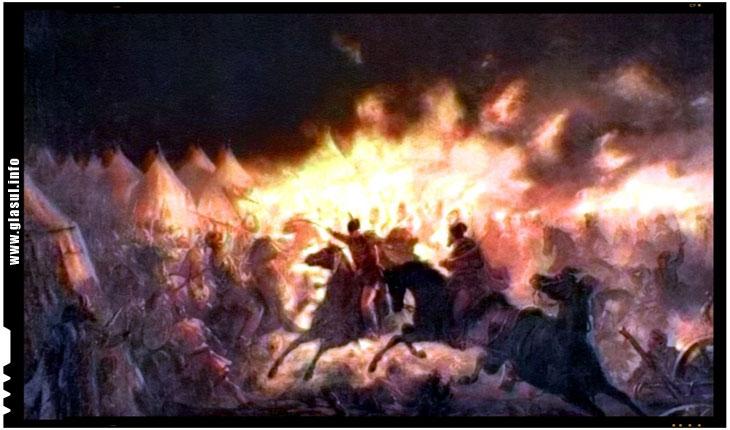 Atacul de noapte al lui Vlad Tepes impotriva ostilor otomane, una dintre cele mai stralucite victorii ale crestinatatii impotriva turcilor