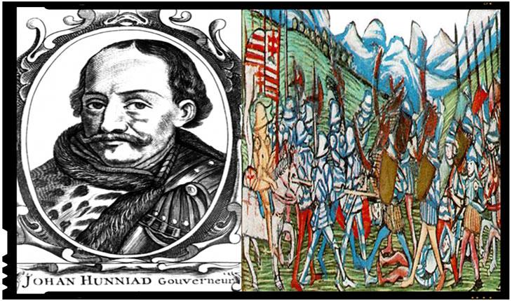 La 5 iunie 1446 Dieta Ungariei il alege pe Iancu de Hunedoara in functia de guvernator general