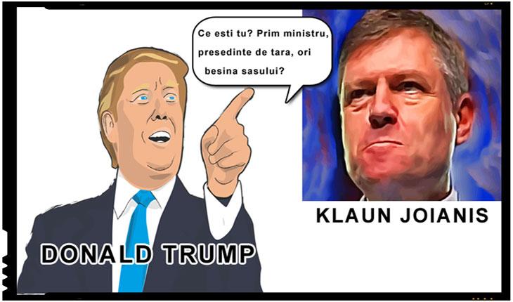 Ce caută Johannis la Trump?