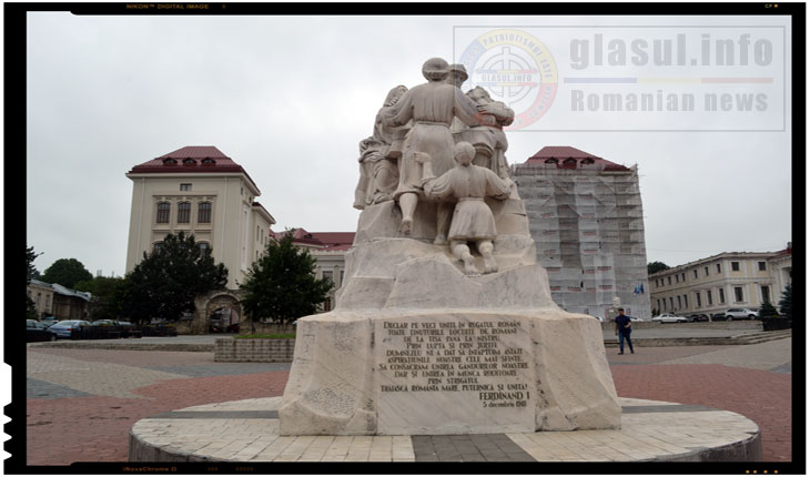 Monumentul Unirii din IASI a fost vandalizat periodic