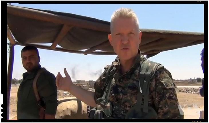 Un actor a lasat Hollywood-ul pentru a lupta impotriva ISIS in Siria