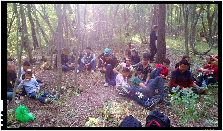 Inca 25 de imigranti sirieni si trei calauze bulgare au fost depistati de catre politistii de frontiera din Constanta, Foto: politiadefrontiera.ro