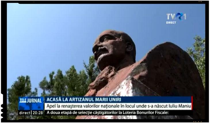 Apel pentru renașterea valorilor naționale romanesti, în locul natal al lui Iuliu Maniu, Foto: TVR 1