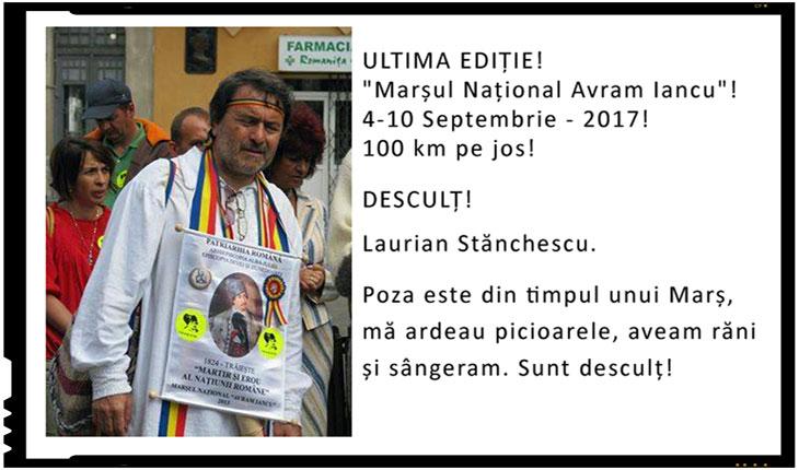 "ULTIMA EDIȚIE!""Marșul Național Avram Iancu""!4-10 Septembrie - 2017!100 km pe jos!"