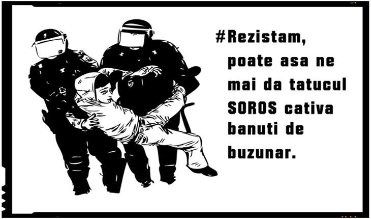 """Sunt """"rezistenți"""" cărora li se plătesc amenzile de către oameni ai USR-ului,primesc bani prin diferite ONG-uri,sau diferite bunuri"""