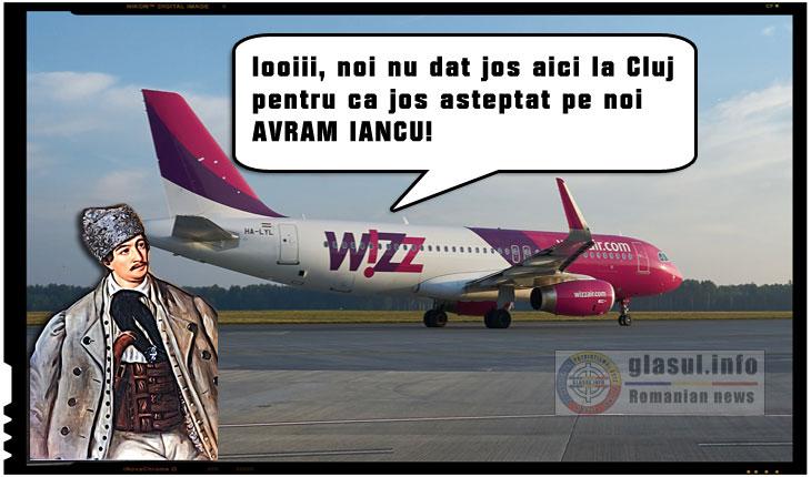 Scandalos! Angajatilor Wizz Air le este interzis sa le spuna pasagerilor ca au ajuns pe Aeroportul Avram Iancu de la Cluj!