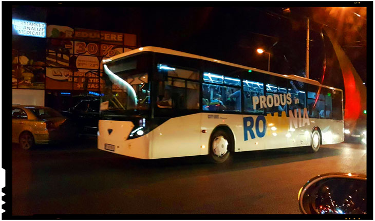 Prin Chișinău circula autobuze produse in România, Foto: unimedia.info