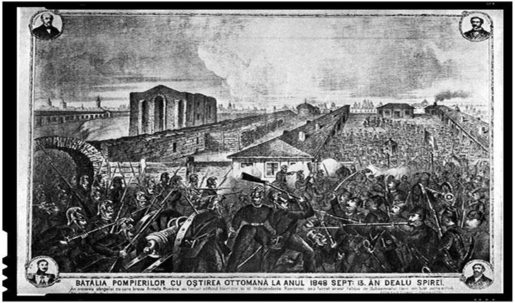 La 13 septembrie 1848 a avut loc Batalia din Dealul Spirii