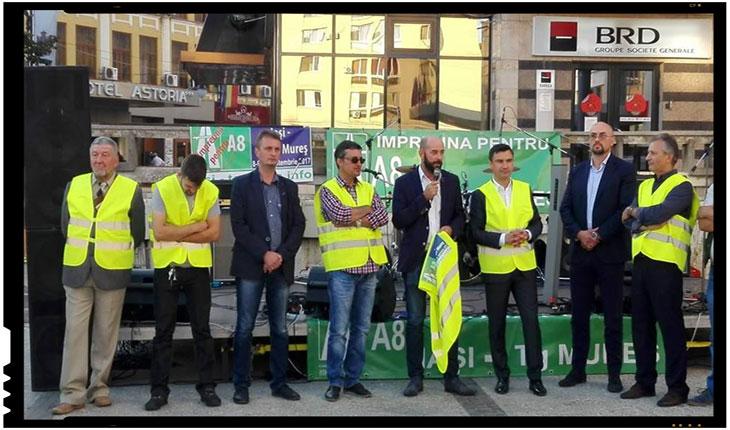 Cameleonism politic: primarul Chirica de la IASI este ca pisica lui Schradinger, si la putere, si in opozitie!, Foto: facebook.com/pg/Impreuna-pentru-Autostrada-Iaşi-Tg-Mureş-129963990951807/