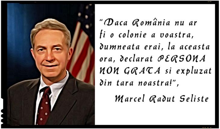 Liviu Plesoianu: Este timpul ca SUA să trimită un alt ambasador în România. Va deveni SUA cu adevărat PARTENERUL României sau va continua să ne trateze ca pe o COLONIE?